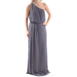 ADRIANNA PAPELL $119 Womens New 1232 Gray Rhinestone Blouson Dress 6 B+B