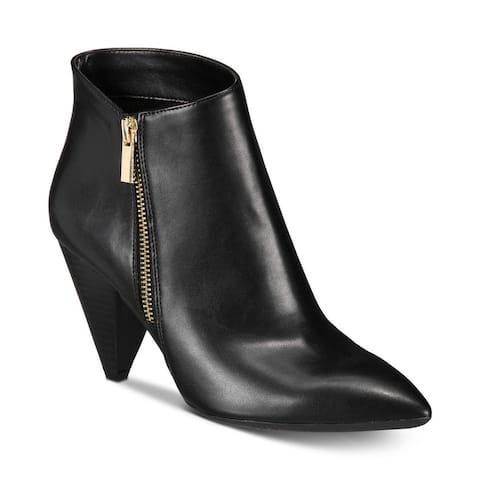 I.n.c. Women's Gaetana Ankle Bootie Black Size 7M