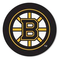 NHL - Boston Bruins Puck Mat