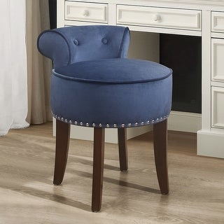"""Link to Hillsdale Furniture Lena Wood Vanity Stool - 17"""" x 18.25"""" x 22.5"""" Similar Items in Living Room Furniture"""