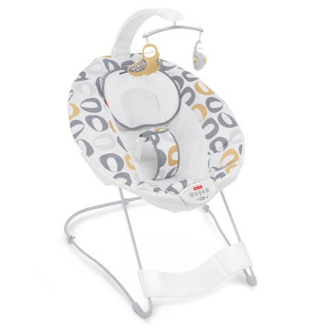 """Fisher-Price See & Soothe Deluxe Bouncer, Kernal Pop - 27.17 x 22.75 x 33.07"""""""