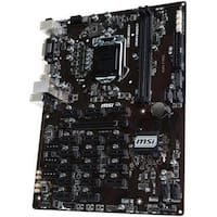 MSI Components  B360-F Pro Desktop Motherboard with Intel Chipset