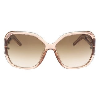 Chloe CE650/S 643 Antique Rose Square Sunglasses - Antique Rose