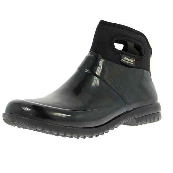 Bogs Boots Womens Seattle Solid Mid Waterproof Rubber