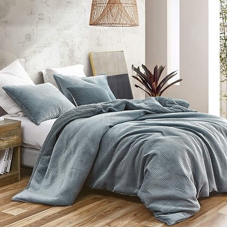 Link to Embossy - Coma Inducer Oversized Duvet Cover - Cinder Gray Similar Items in Duvet Covers & Sets