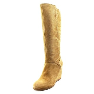 Nine West Vienneo Women Round Toe Suede Knee High Boot