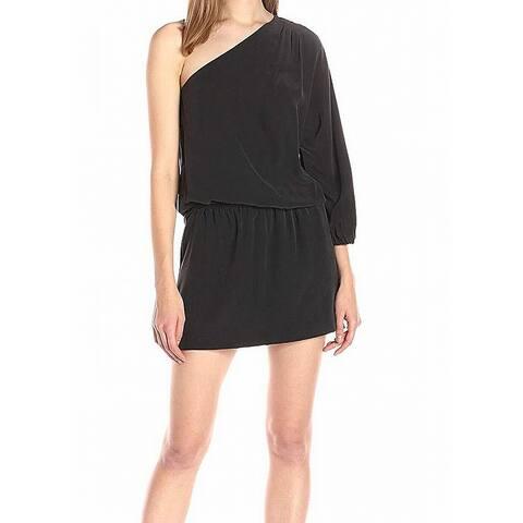 3532059a6cc Joie One-Shoulder Women s Medium Sheath Dress Silk