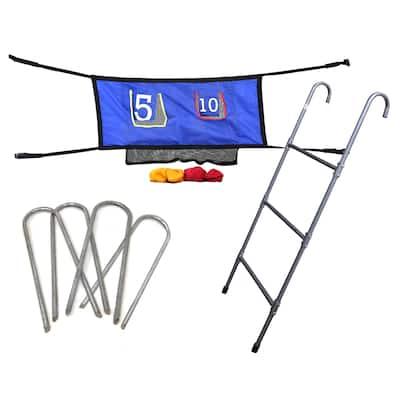 Skywalker Trampolines 3-Rung Ladder and Game Kit