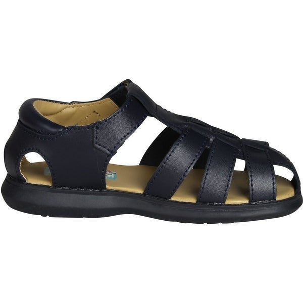 5 Toddler Black Scott David Boys Sailor Sandals