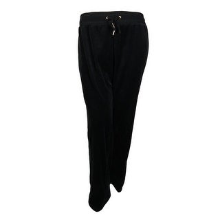 Calvin Klein Women's Plus Size Velour Pants - 2x