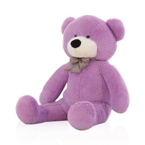 "Large Stuffed Teddy Bear Plush Toy Birthday Valentines Christmas Day Gift - 47"""