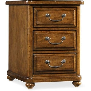 Hooker Furniture 5323 80114 18 Inch Wide 3 Drawers Poplar Wood Nightstand  From T