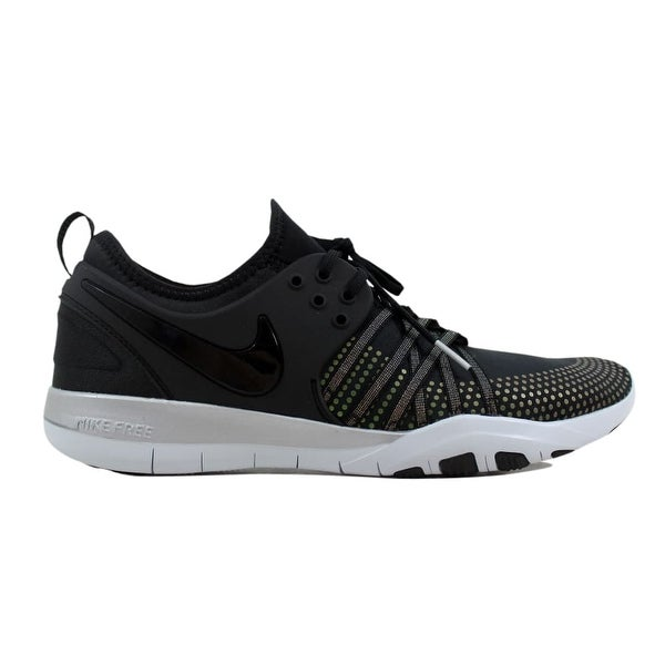 buy popular 64967 a6ac9 Nike Free TR 7 Metallic Black Black-Pure Platinum 922844-001 Women