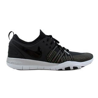 9af10a5bbc82 Shop Nike Free TR 7 Metallic Black Black-Pure Platinum 922844-001 ...
