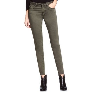 Two By Vince Camuto NEW Olive Earth Green Women's Size 2 Skinny Pants