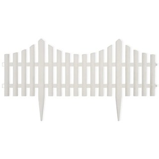 Link to vidaXL White Lawn Divider 17 pcs 32.8 ft Similar Items in Garden Accents