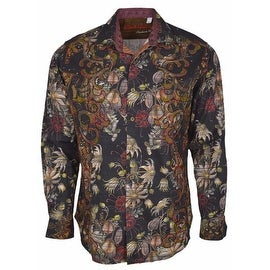 Robert Graham Classic Fit TRIBES OF GALWAY Limited Edition Sport Shirt M