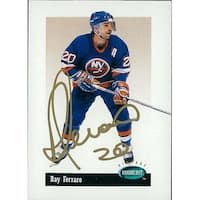 Signed Ferraro Ray New York Islanders 1994 Parkhurst Hockey Card autographed
