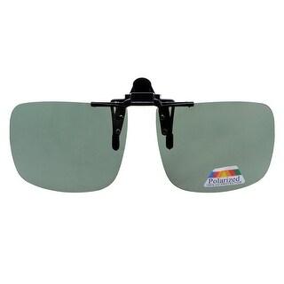 Eyekepper Square Flip up Polarized Clip-on Sunglasses G15
