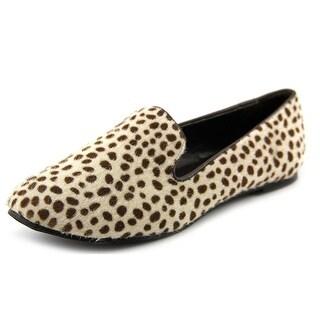 BootsiTootsi Smoking Ballet Flat Cap Toe Canvas Loafer