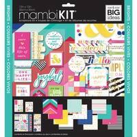 """Me & My Big Ideas Page Kit 12""""X12""""-Brights"""
