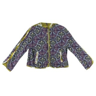 Zara Trafaluc Womens Printed Reversible Jacket