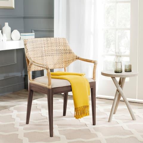 "Safavieh Carlo Honey Arm Chair - 23"" x 22.5"" x 34"""