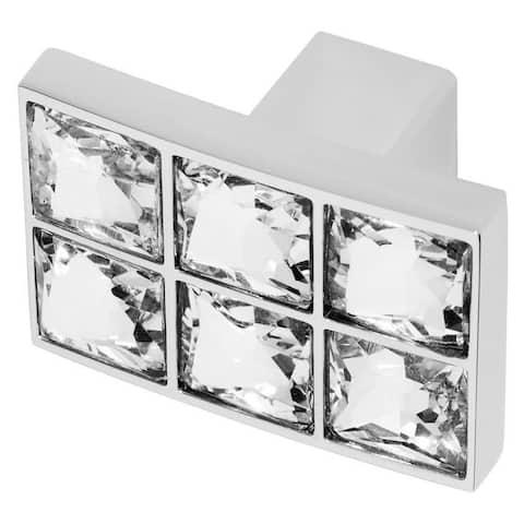 "Wisdom Stone 4203 Karlovy 1-3/8"" Rectangular Cabinet Knob"