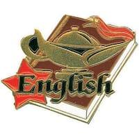 Simba SA21 1.25 in. English Lapel Pin - Pack of 25
