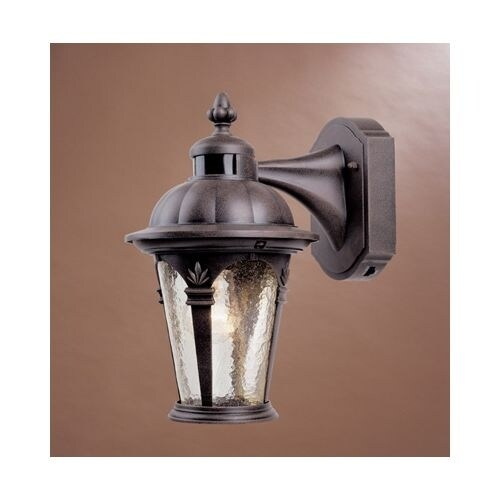 """Designers Fountain 2900MD-AG 1 Light 7.5"""" Cast Aluminum Wall Lantern with Motion Detector"""