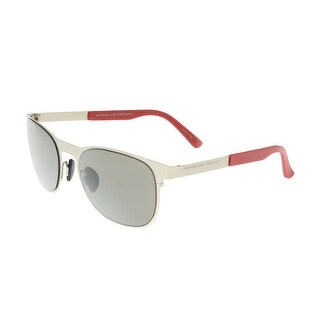 Porsche P8578-B Grey Round Sunglasses - 54-20-140