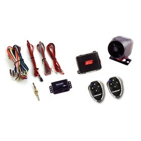 Crimestopper CSPSP101B Deluxe 1-Way Alarm and Keyless Entry System