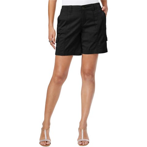 Style&Co. Womens Comfort Waist Casual Cargo Shorts - 18