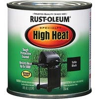 Rust-Oleum Corp 7778730 0.5 Pint BBQ Black High Heat Specialty Enamel