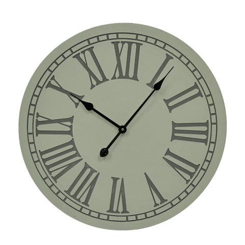 Elegant Roman Numeral Large Round Wall Clock 23 inch