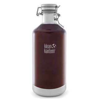 Klean Kanteen Classic Insulated 64 oz. Growler with Swing Lok Cap - Dark Amber