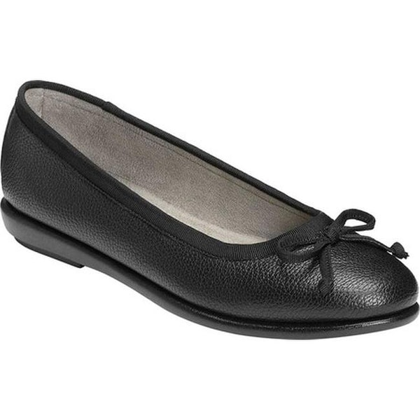 c57dbe7413c0 Shop A2 by Aerosoles Women s Fair Bet Ballet Flat Black Faux Leather ...