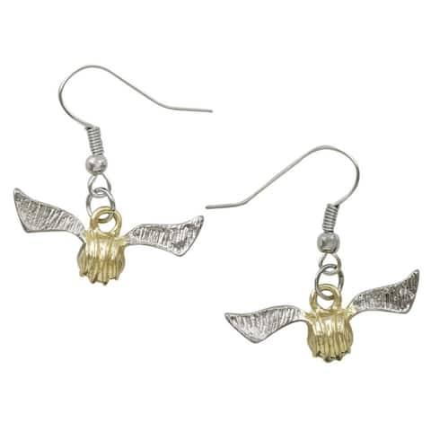Harry Potter Golden Snitch Earrings