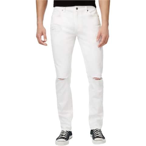 American Rag Mens Ripped Regular Fit Jeans