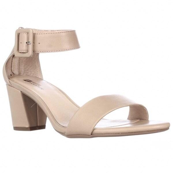 White Mountain Elixer Ankle Strap Sandals, Tan