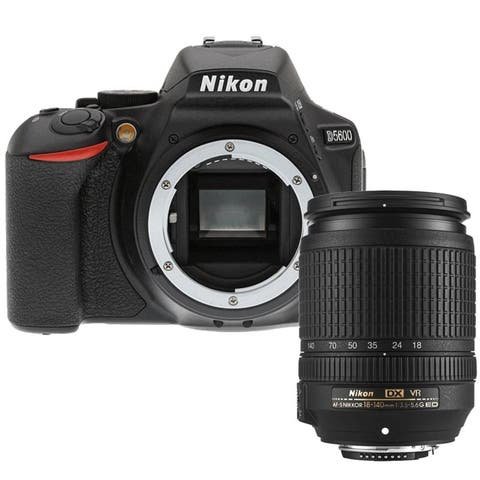 Nikon D5600 24.2MP DSLR Camera + Nikon AF-S DX 18-140mm ED VR Lens