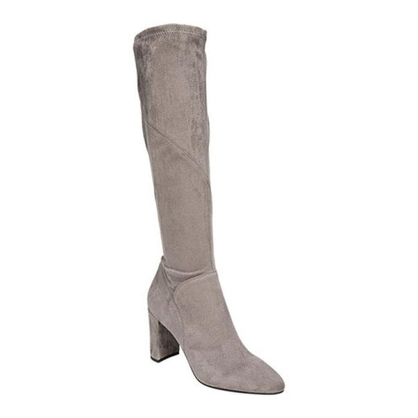 Boot Grey Faux Suede - Overstock - 22863535