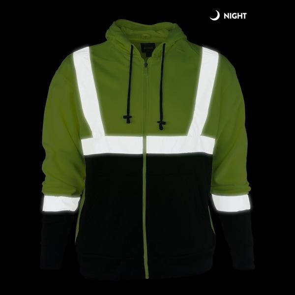 Sean John Tape-Detail Hoodie Green 2XL