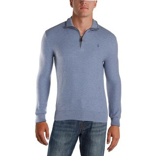 Polo Ralph Lauren Mens 1/2 Zip Sweater Thermal Pullover - S