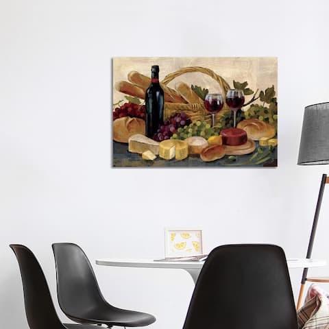 "iCanvas ""Tuscan Evening Wine "" by Silvia Vassileva Canvas Print"
