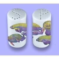 Carolines Treasures 8544SP Manatee Ceramic Salt Pepper Shakers