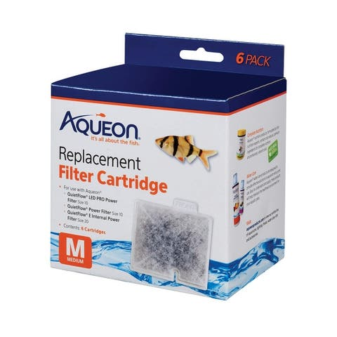 Aqueon Replacement Filter Cartridges 6 pack