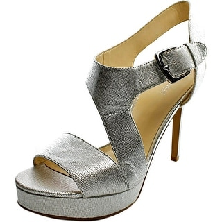 Nine West Say No More Open Toe Leather Sandals