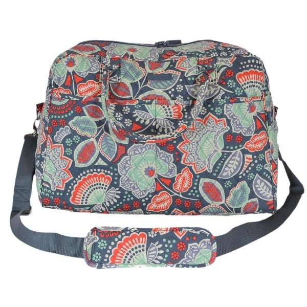5594ab2ba32 Shop Vera Bradley NOMADIC Floral Cotton Weekender Duffle Travel Bag ...