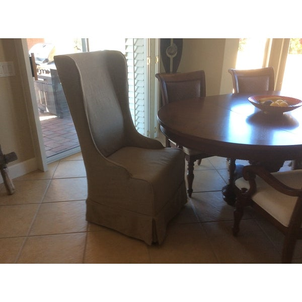 Safavieh En Vogue Dining Deco Bacall Hemp Dining Chair   Free Shipping  Today   Overstock.com   15623242
